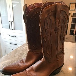 Womans Lucchese cowboy boots size 10